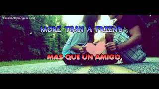 Robin Schulz ft Nico Santos - More than a friend LETRA (Español - Ingles)