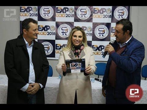 Governadora Cida Borghetti recebe convite da Expo-Goio 2018 do Presidente da SRG - Fernando Nunes