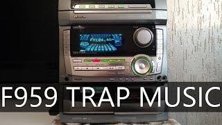 Aiwa NSX-F959 Tocando Trap Music // 1080p