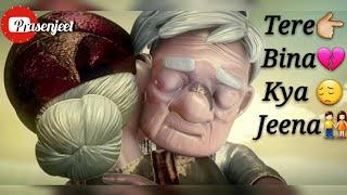 Tere 💗 Bina Bhi 💘 Kya Jeena Hearttouching  videos by Prasenjeet meshram