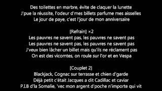 Charles - Vicomte (Paroles)