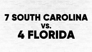 (4) Florida vs. (7) South Carolina