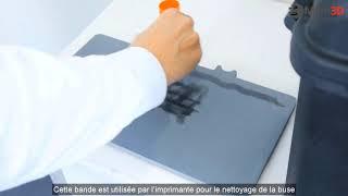 INSTALLATION - Markforged Desktop 3D printer - #8 Préparer le plateau d'impression