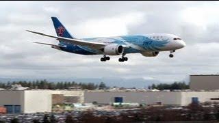 Les Boeing 787 toujours cloués au sol