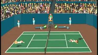 Women's Tennis Moaning Orgasm (from Family Guy)