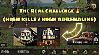 All about killing and winning | PUBG MOBILE (Crew Challenge Day 1}