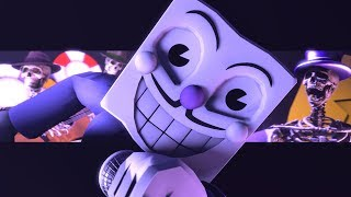I'm Mr. King Dice - Die House SFM Animated (Concert Vocal by The Goatee) Cuphead SFM by Super Elon