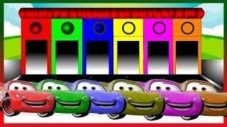 Mcqueen cores para crianças para aprender com cores carro - cores para crianças
