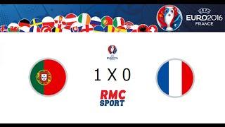 PORTUGAL 0 X 0 FRANCE (1X0 AET) // EUROPEAN CHAMPIONSHIP 2016 - RMC SPORT