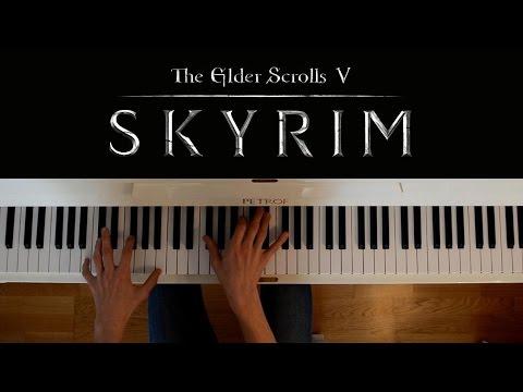 Skyrim Piano Cover Dragonborn Main Theme Chords Chordify