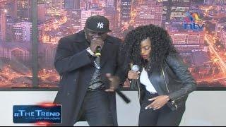Khaligraph Jones and Cashy perform 'Micasa Sucasa' on #theTrend