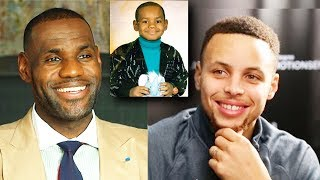 Steph Curry and LeBron James Guess Who These NBA Kids Grew Up To Be! NBA Players When They Were Kids