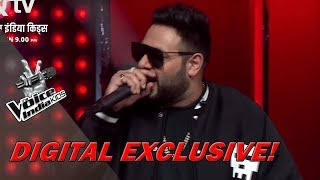 Badshah Completes The Ice Slab Challenge | Moment | The Voice India Kids - Season 2