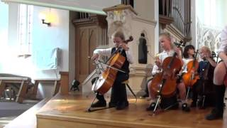 Prelude from Suite Nr 1 for cello by J.S. Bach