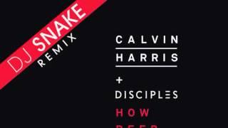 Calvin Harris / Disciples - How Deep Is Your Love (Dj Snake Remix)