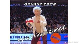 Grandma Drew has handles ! Better than Kyrie?