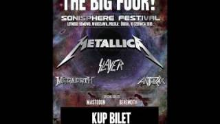 The Big Four!(Metallica, Slayer, Megadeth, Anthrax)-Am I Evil? Lyrics