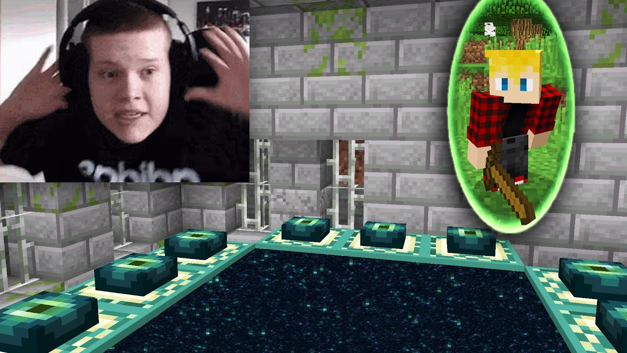 Lynix - I used a PORTAL MOD to ruin this streamers speedrun..