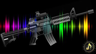 GUNS - M16 Single Gunshots ~ Non Copyrighted Sound Effects