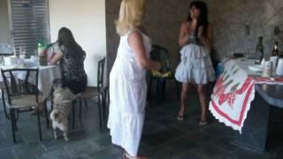casa pai tia dançando com tia silvia