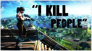 "Fortnite Montage "" I KILL PEOPLE"" Trippe Red"