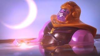 Avengers Infinity War Thanos gets soul stone scene Lego Stop Motion