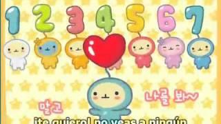 Canción de los números Coreanos, Hallyu Honduras(^^)