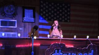 """Alexis Elkins- 12yrs old """"Daddy's Hands"""" Cover"""