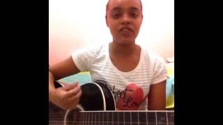 A menina e o violão-Damares-O maior troféu(cover)