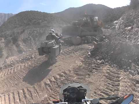 Facing off the bulldozer