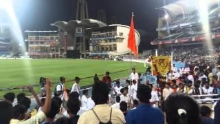 Brahmaa dhol tasha pathak, In d_y_patil stadium