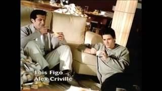 Figo & Àlex Crivillé - Anuncio Natillas Danone 2000