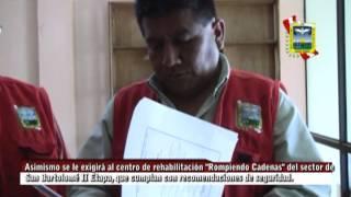 "Municipalidad de Santa María clausura centro de rehabilitación ""Volver a Vivir"".mpg"