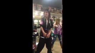 DJ KALLY RAPS AT ZUMIEZ!