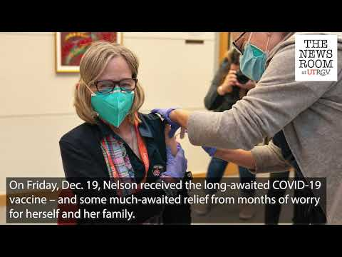 UTRGV's Linda Nelson, first to administer COVID-19 vaccine in Valley, gets her shot