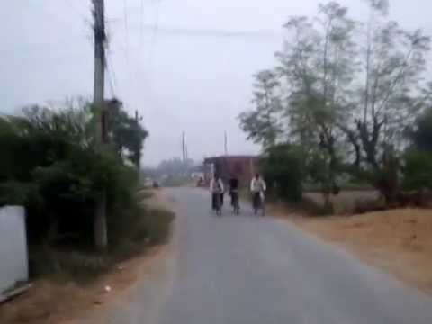 Way to Buddha Paruyatti Uday Bihar Shankarnagar Dingarkuwa Rupandehi Nepal Jatil bahtejyu -2