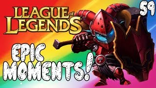 League of Legends Epic Moments - Ruthless, Your Problem, Nerf The Tower