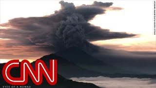 Thousands evacuated as volcano erupts