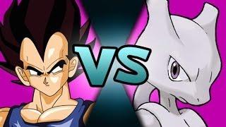 Vegeta VS Mewtwo? | DEATH BATTLE vs SILVERMANIA! | ScrewAttack!