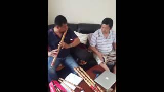 Fulako thunga (flute by kul Thapa and Tulsi Rana Madalist