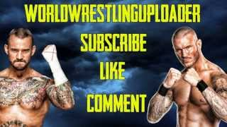 WWE Wrestlemania 29 (CM Punk Vs. Undertaker) Theme Song - ''Bones'' With Download Link