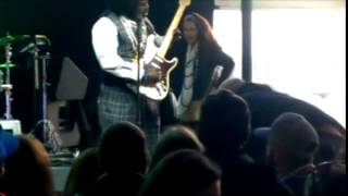 Afroman punches woman on stage
