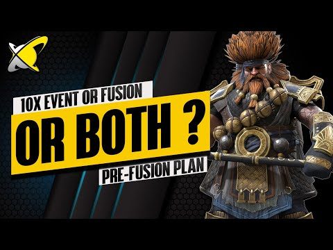 WHICH IS BETTER.. 10X EVENT vs FUSION.. or BOTH !? | Hurndig Pre-Fusion Plan | RAID: Shadow Legends