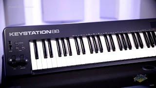 M Audio Keystation 88 USB MIDI Controller Keyboard - M Audio Keystation