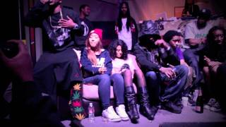 """CURREN$Y """"HIGH TUNES"""" LIVE FT. DAME GREASE x SMOKE DZA x THE SMOKERS CLUB"""