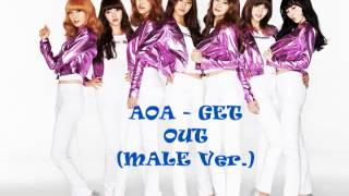 AOA   GET  OUT (MALE Ver.)