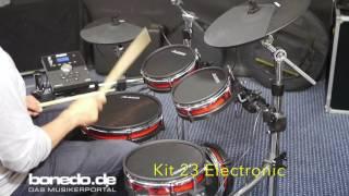 Alesis Crimson E-Drum Kit Sound Demo (no talking)