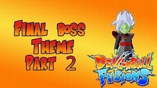 Dragon Ball Fusions 3DS - Final Boss Theme Part 2 OST