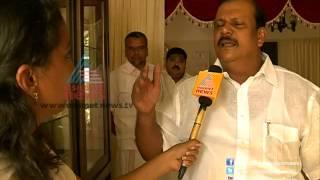 P.C George response on Ganesh Kumar issue