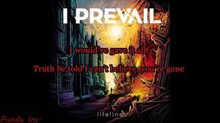 I Prevail   Alone (Lyrics)